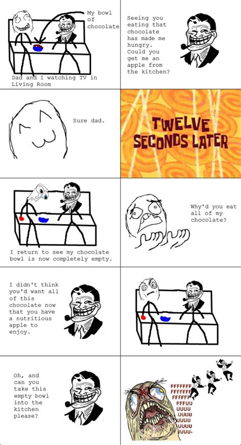 Troll Meme Comic - the funniest troll dad rage comics