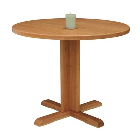 Small Pedestal Dining Table Small Pedestal Table Vermont Woods Studios
