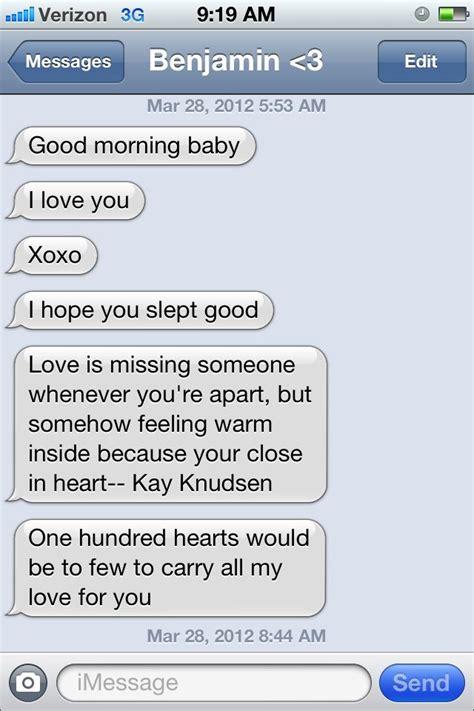 cute good morning texts to boyfriend goodmorning