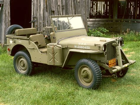 Jeep Willys 45 1942 willys mb jeep milestones