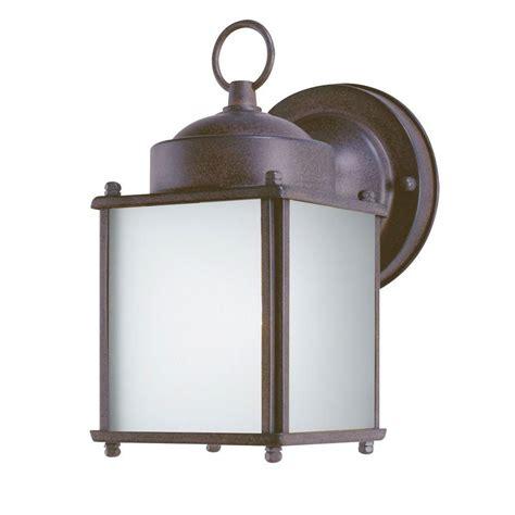 Westinghouse 1 Light Sienna Steel Outdoor Wall Lantern Dusk To Outdoor Lights