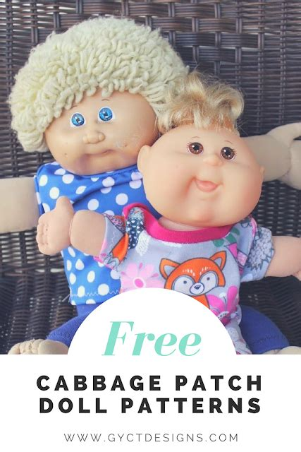 how to make a cabbage patch doll winter hat how to create cabbage patch doll clothes free pattern