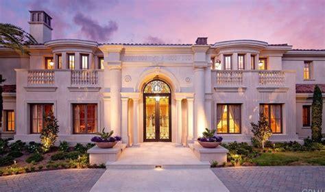 mediterranean style homes california coast mega 10 985 million mediterranean style mansion in newport