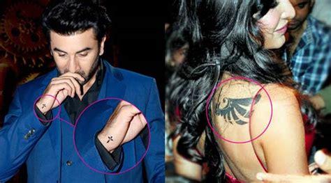 tattoo on ranbir kapoor s hand is ranbir kapoor s tattoo classier than katrina kaif s