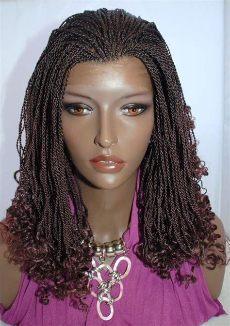 senegalese twists synthetic vs human hair braided lace wigs micro braids senegalese kinky twists