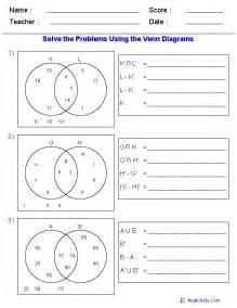 16 best set images on pinterest venn diagram worksheet