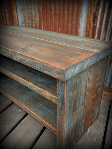 diy shoe rack bench 33 quot shoe rack bench 110 00 via etsy possible to order