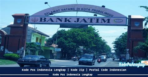 kode pos kabupaten probolinggo provinsi jawa timur indonesia