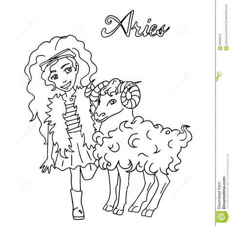 sign in for doodle the children sign horoscope doodle outline drawing