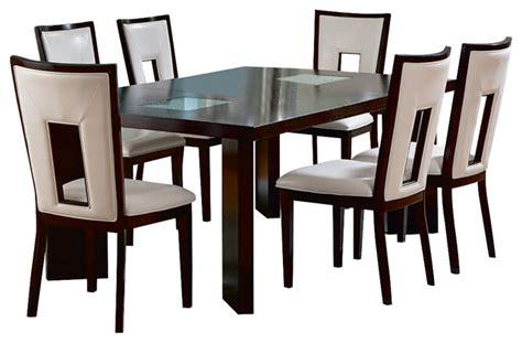 steve silver dining room sets steve silver delano 7 piece 60x44 dining room set