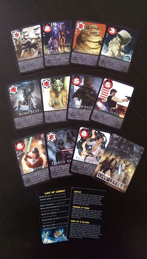 Letter Retheme Letter Wars Re Theme Printed Custom Cards Boardgames