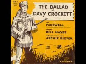 bill the ballad of davy crockett 1956