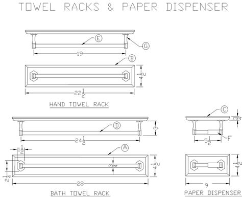 Bathroom Towel Rack Plans How To Make Bathroom Towel Racks Free Woodworking Plans