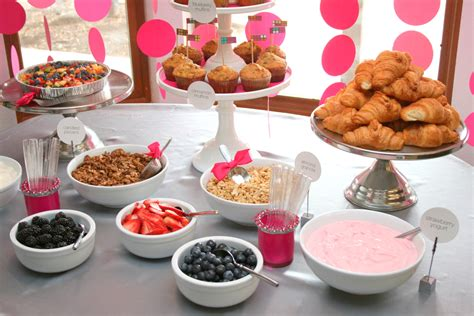 Yogurt Bar Toppings by Circle Garland Baby Shower Paging Supermom