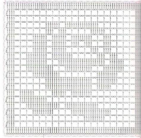 copriletto filet schemi copriletti a filet tutti con schema
