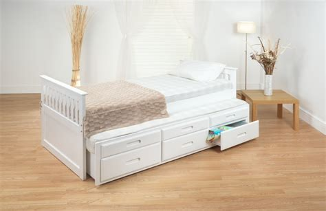 White Bed With Drawers by Home Decorating Pictures White Bed With Drawers