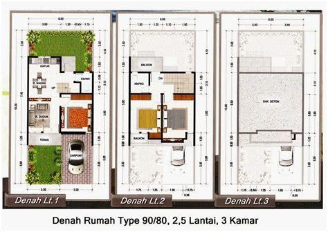 kegunaan layout peta 20 contoh denah rumah minimalis tipe 90 terbaru design rumah
