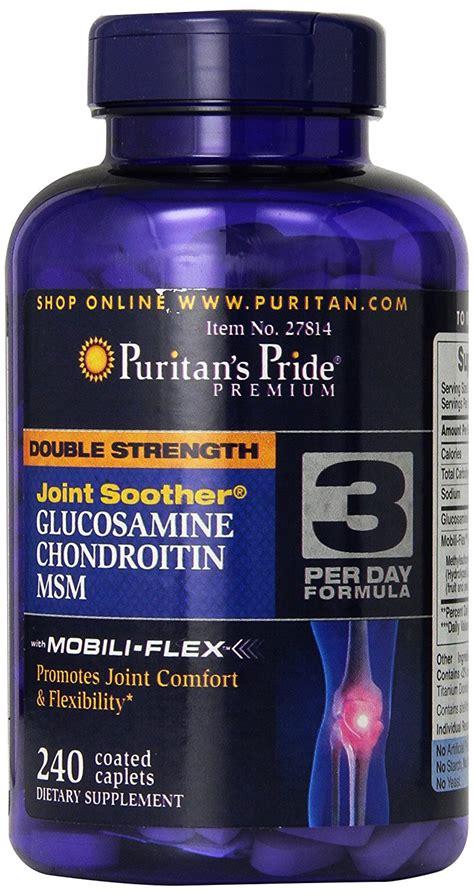 Puritan Hyaluronic Acid Collagen Glucosamine Chondroitinmsm glucosamine truevitaminshop