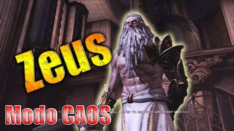 imagenes mitologicas de zeus zeus en modo caos chaos como derrotar a zeus gow3