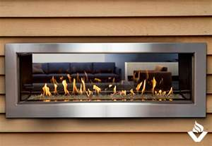 town country ws54 indoor outdoor see thru fireplace
