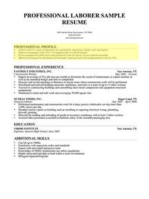 Resume Profile Samples Resume Professional Profile Student Resume Template