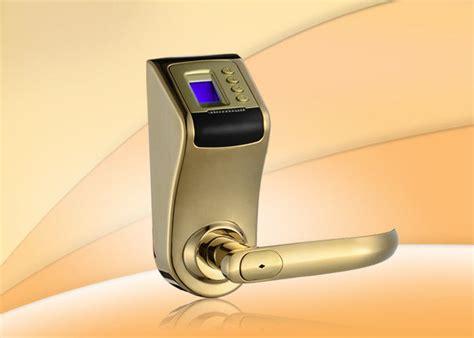 Fingerprint Door Lock Silicon Ul 580 fingerprint password safe door lock with auto locking mode