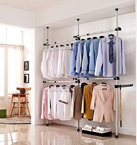 Clothes Organizer Karakter 4 floor to ceiling portable closet system wardrobe clothes storage rack organizer 711830232898 ebay