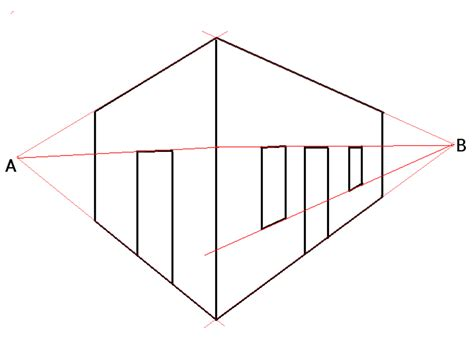 2 Point Perspective Drawing Definition by File Twopointperspective Png Wikimedia Commons