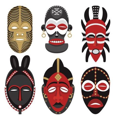 printable zulu mask religions south africa
