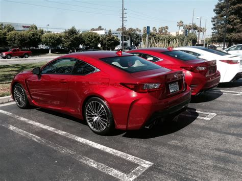 lexus rcf red rcf rc f sport at hq club lexus forums