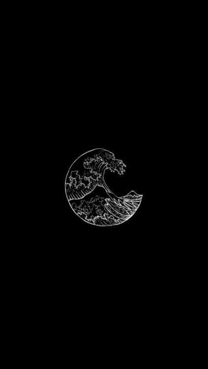 black aesthetic background tumblr