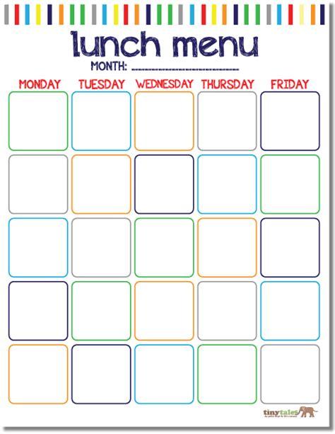 school lunch calendar template free school lunch calendar printable printables