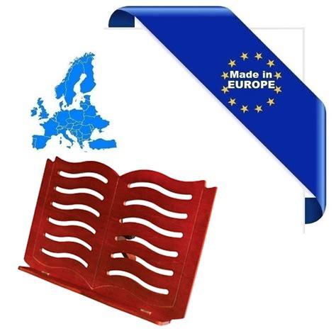 leggio in legno da tavolo leggio da tavolo in legno small book cherry made in europe