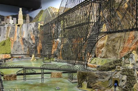 model train layout new jersey the world s largest model railway complete with 100