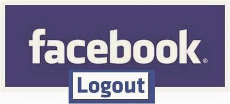 fb logout how to logout from facebook on android iphone ipad computer
