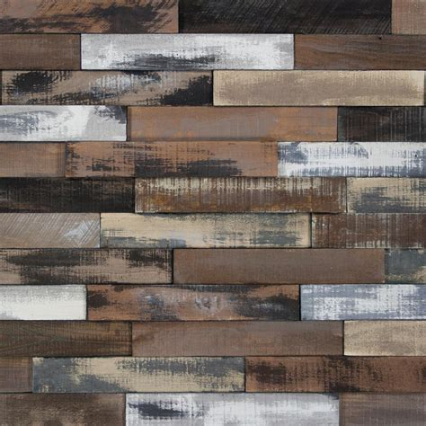 Wood Plank Accent Wall Home Depot