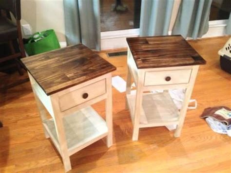 do it yourself the table farmhouse bedside table do it yourself home projects