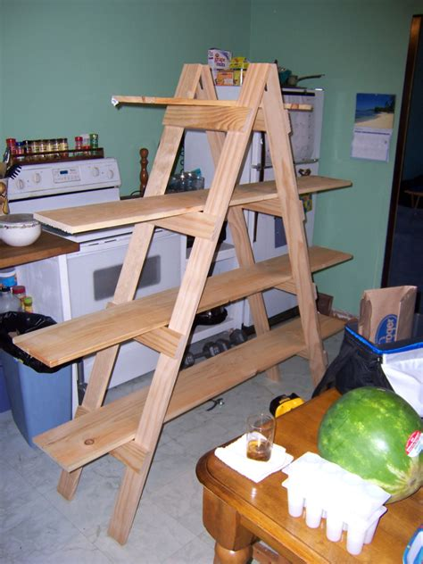 christmas shelf display make your own ladder shelf for your craft show display made them