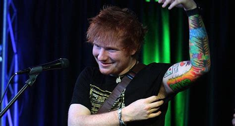 ed sheeran tattoo cost ed sheeran s tattoo artist trolled him for life with