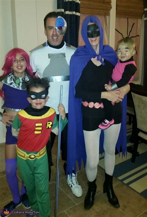 teen titans  family costume