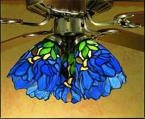iris ceiling fan stained glass ceiling fans iris blue green stained