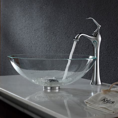 bathroom vessel sink and faucet combos home design ideas