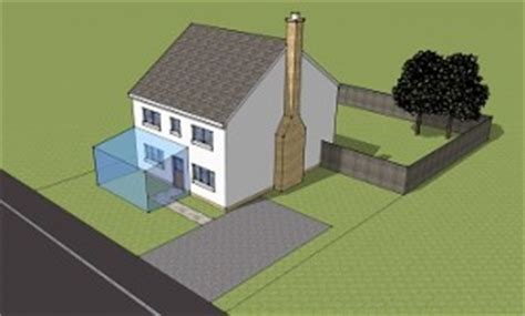 planning permission for a home extension single storey