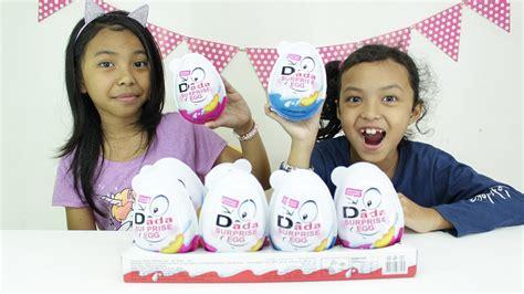 Mobil Dorong Anak Jumbo 787 duh kecewaaaaa masa dapat mobil jumbo eggs mainan anak kinder