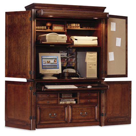 decoration outstanding best corner computer armoire with