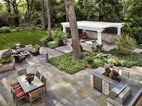 Backyard Entertaining Landscape Ideas Backyard Landscape Design Ideas For Backyard