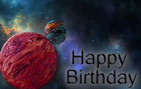 Happy Birthday To Son. Cool Planets! Free For Son