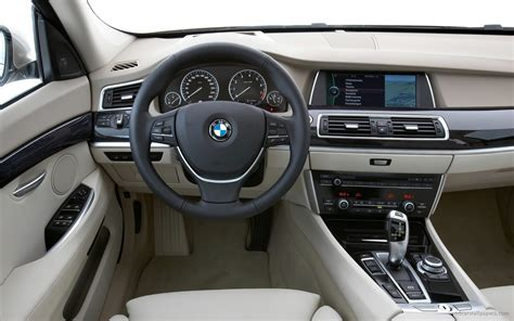 Interior Bmw 5 Series by 2010 Bmw 5 Series Gran Turismo Interior Wallpaper In