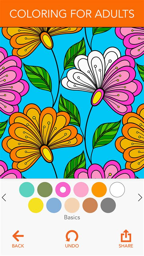 coloring books for adults app colorart coloring book for adults apps 148apps