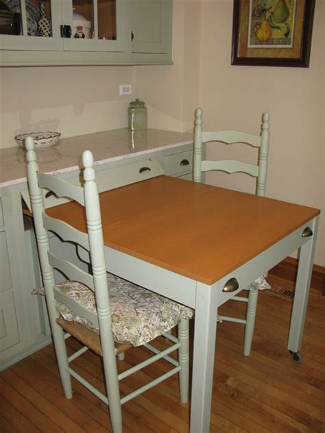 hide away kitchen table